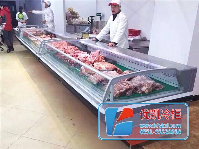 鲜肉柜案例现场图